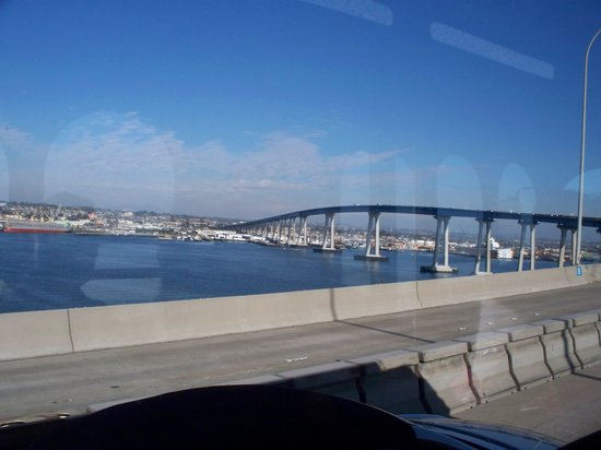 Coronado Bridge : The bridge