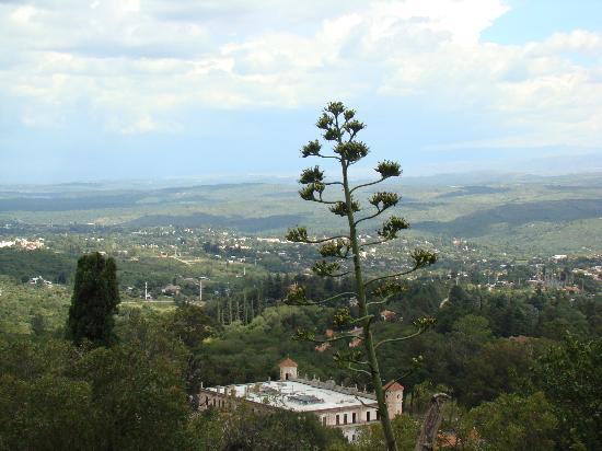 Villa Giardino, Arjantin: Vue aérienne de la ville