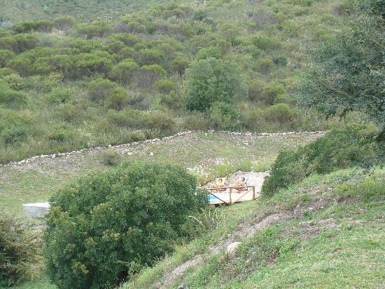 Villa Giardino, Argentina: La fraîcheur du paysage