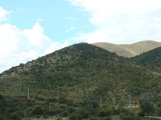 Villa Giardino, Arjantin: Le silence en bas des collines