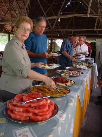 Amazonas Sinchicuy Lodge: comensales :-)