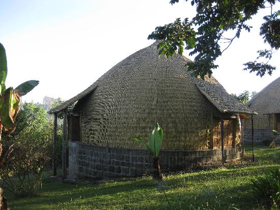 Irgalem, Ethiopia: hut (accommodation) at Aregash Lodge