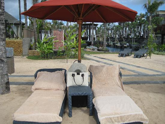 The St. Regis Bali Resort : Comfy bed but a little short