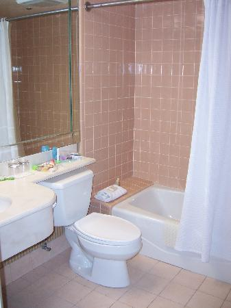Candy Cane Inn: Spacious bathroom, with full tub.