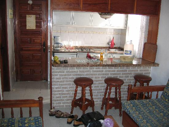 Los Arcos Bungalows: The inside!
