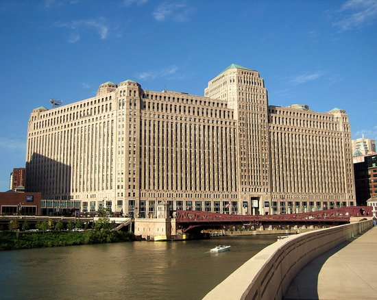 Hotels Near  W Merchandise Mart Plaza Chicago Il