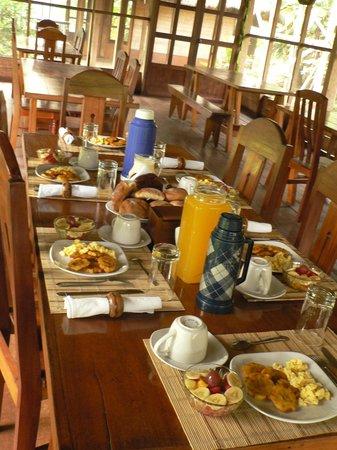 Estancia Bello Horizonte : Petit déjeuner