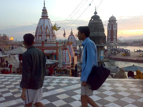 Haridwar, Inde : Har Ki Paudi