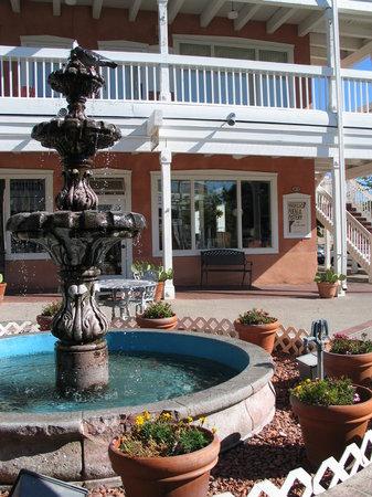 Old Town Albuquerque : Plaza fountain