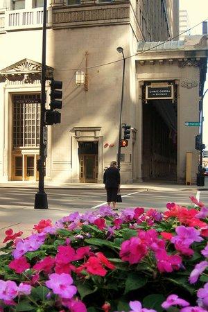 Lyric Opera of Chicago : Opera House Viewed from Across Madison