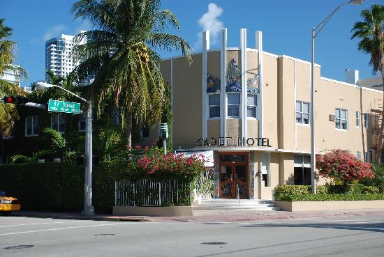 Cadet Hotel Exterior Picture Of Cadet Hotel Miami Beach Tripadvisor