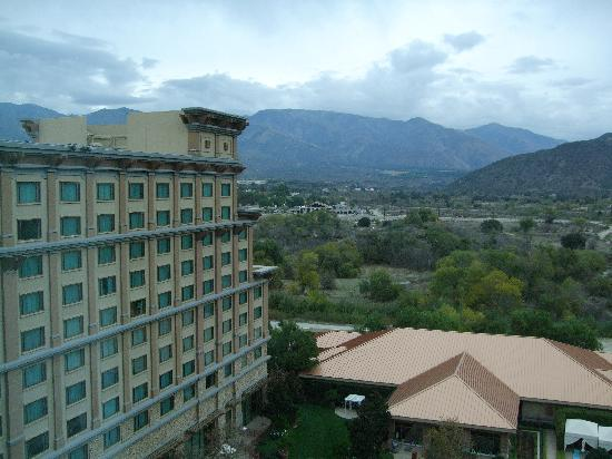 Pala Casino Resort and Spa: View from Hotel Room 1