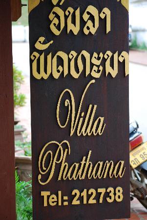 Villa Phathana: Guest House