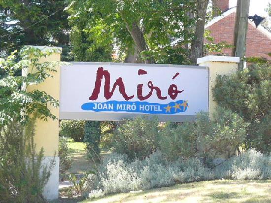Joan Miro Hotel: Hotel name