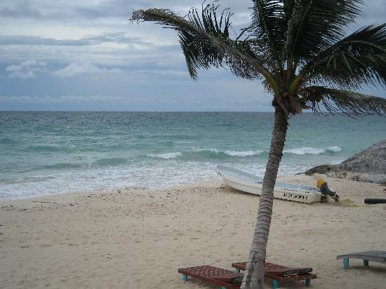 Hotel CalaLuna Tulum: Beach