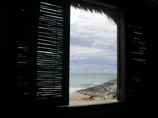 Hotel CalaLuna Tulum: View from Breakfast Hut