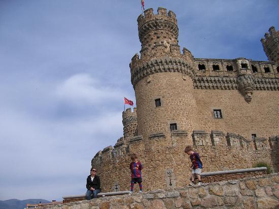 Castillo de los Mendoza (Castillo nuevo de Manzanares El Real): El Castillo de Manzanares el Real