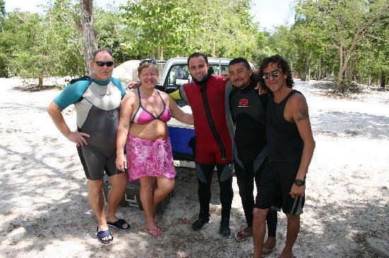 equipe Go cenotes