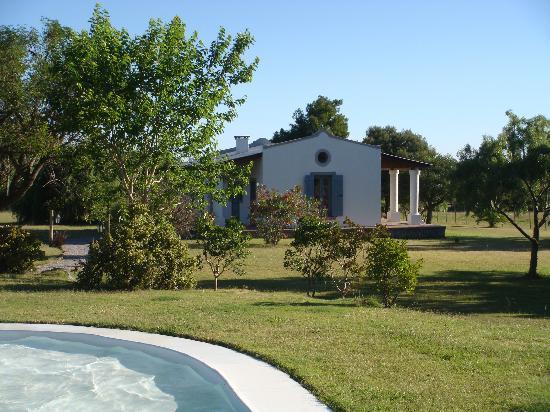 Posada de Campo Gondwana: Garten