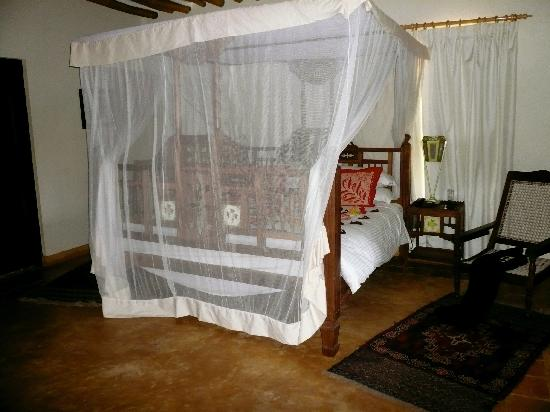Neptune Pwani Beach Resort & Spa: our bed