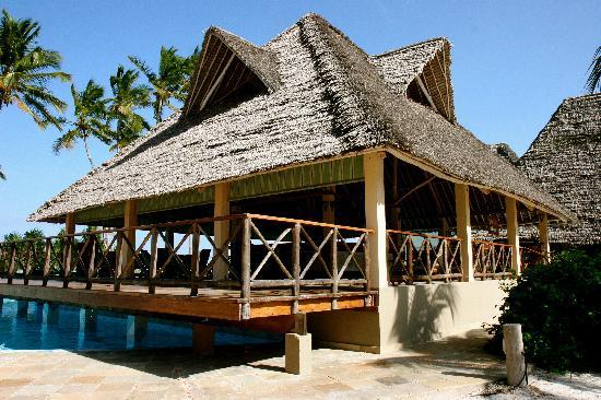 Neptune Pwani Beach Resort & Spa: the bar and restaurant