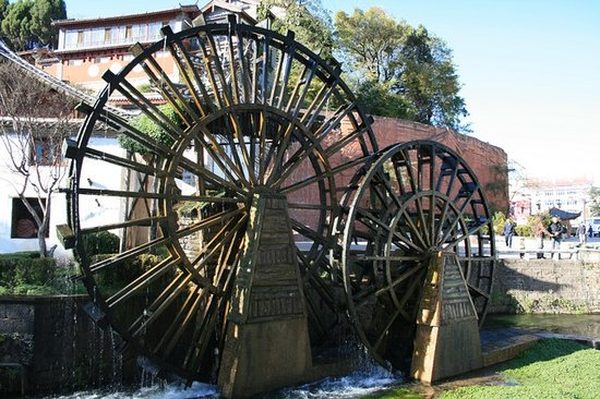 Lijiang Waterwheel.