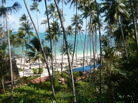 Four Seasons Resort Koh Samui Thailand: beach