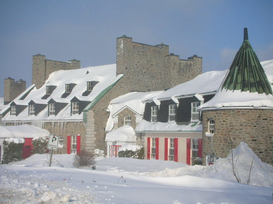 Baie Comeau, Canada: manoir-l'hiver