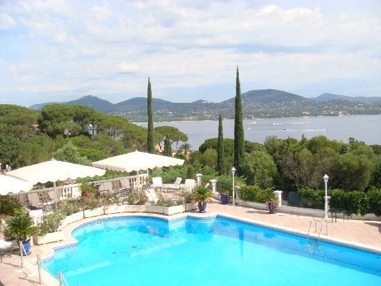 Villa Belrose Hotel : Pool terrace