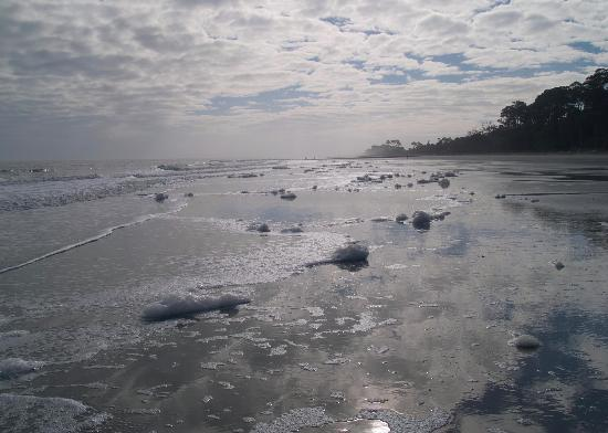 Hunting Island State Park: Beach