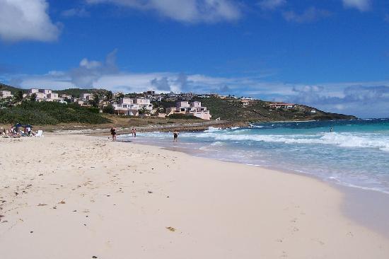 Guana Bay Beach Villas: the villas and the beach