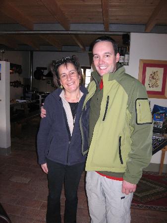 Agriturismo Marciano: Rick & Nadia