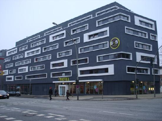 B&B Hotel Hamburg-Altona : Aussenansicht