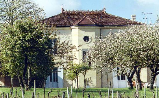 Façade du Domaine de Barrouil (vue des vignes)