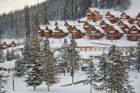 Big Sky Resort Village Center: View from our room...
