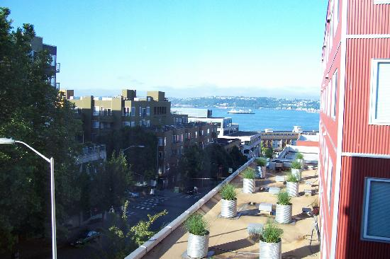 Inn at El Gaucho: view from Sound View Suite