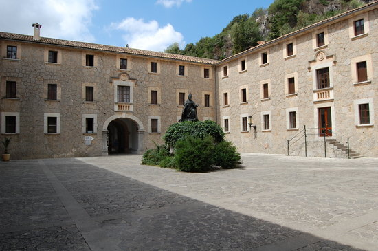 Pollenca, Spania: The monastery at Lluc