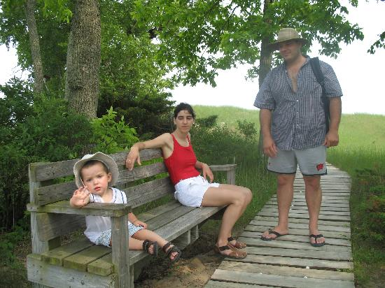 Kohler-Andrae State Park : Path way Sheboygan
