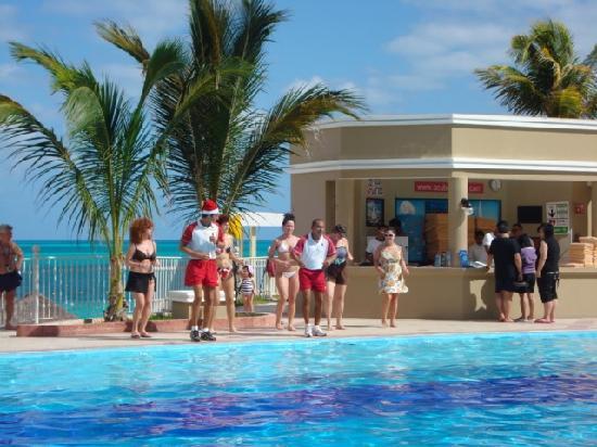 riu caribe lobby bar stock picture of hotel riu caribe. Black Bedroom Furniture Sets. Home Design Ideas