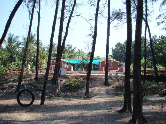 Saagar Beach Resort : Resort from Suruchi Baag.