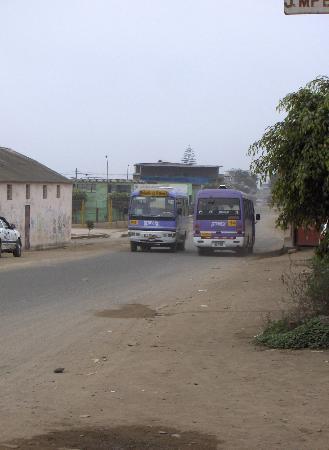 CEPROF: Autobus a Tablada de Lurin