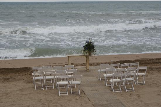 Hostal Spa Empuries: La boda en la playa