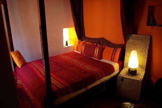 Riad Boussa: Unser Zimmer