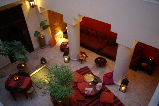 Riad Boussa: Der Innenhof