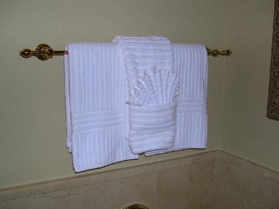 Carlton Hotel: asciugamani