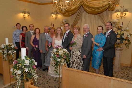Monbelami Wedding Chapel: Us and all our guests.