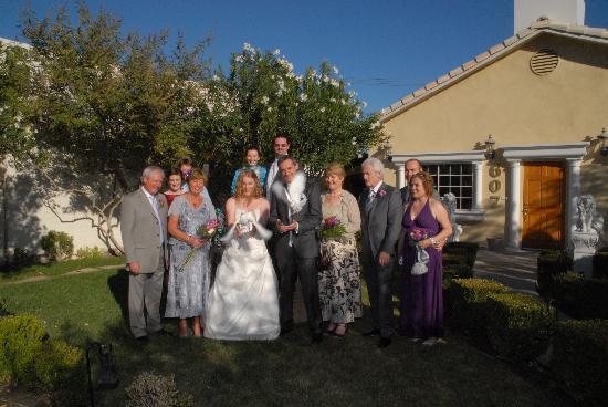 Monbelami Wedding Chapel: Releasing the doves.