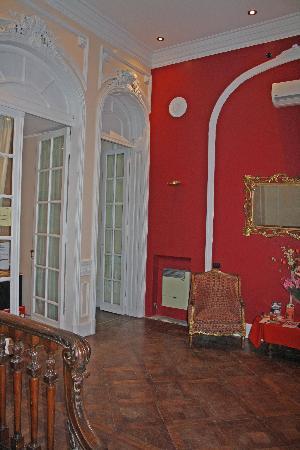Hotel Frossard: Frossard foyer