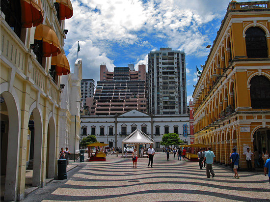 Macao, Kina: Macau, China - Senado Square