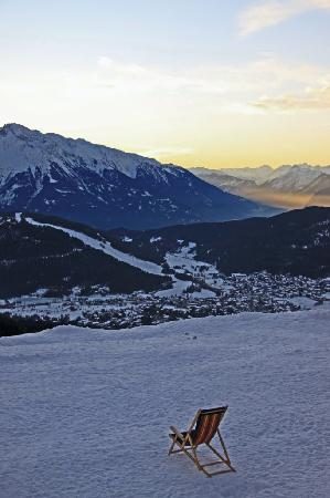 Hotel Cristallago : A view of Seefeld, from the top of Rosshutte